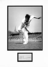 Fred Trueman Autograph Signed Display